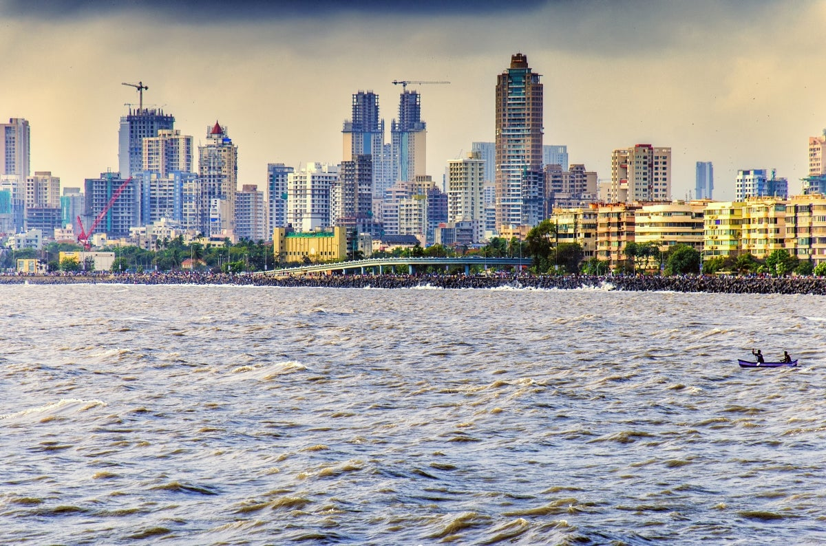 Mumbai, India Skyline