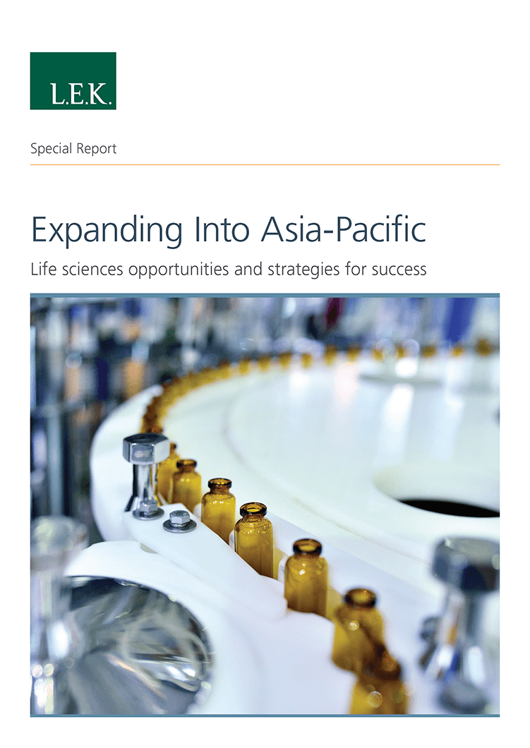 report thumbnail on life science companies expanding to APAC