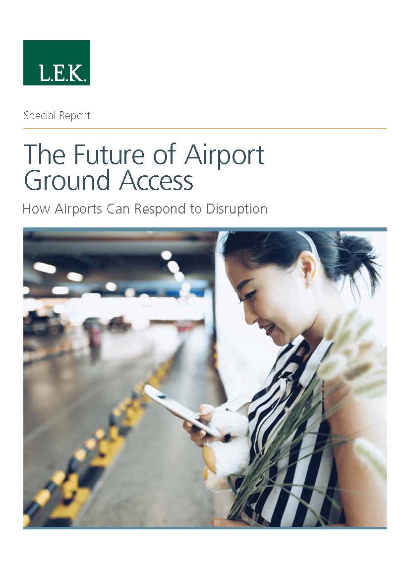 Airport ground transport access report