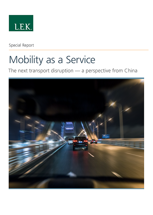 Mobility as a Service Special Report