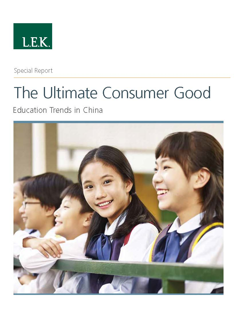 Education Trends in China report thumbnail