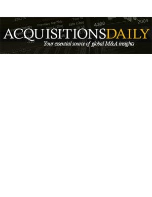 Acquisitions Daily article