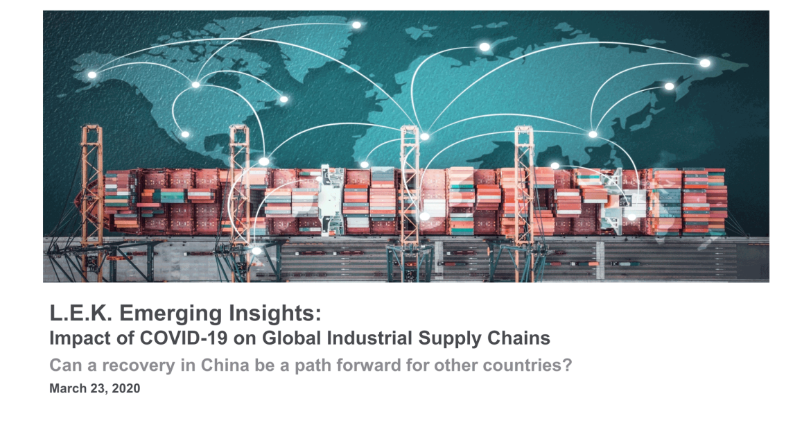 COVID-19 impact on global industrials supply chain