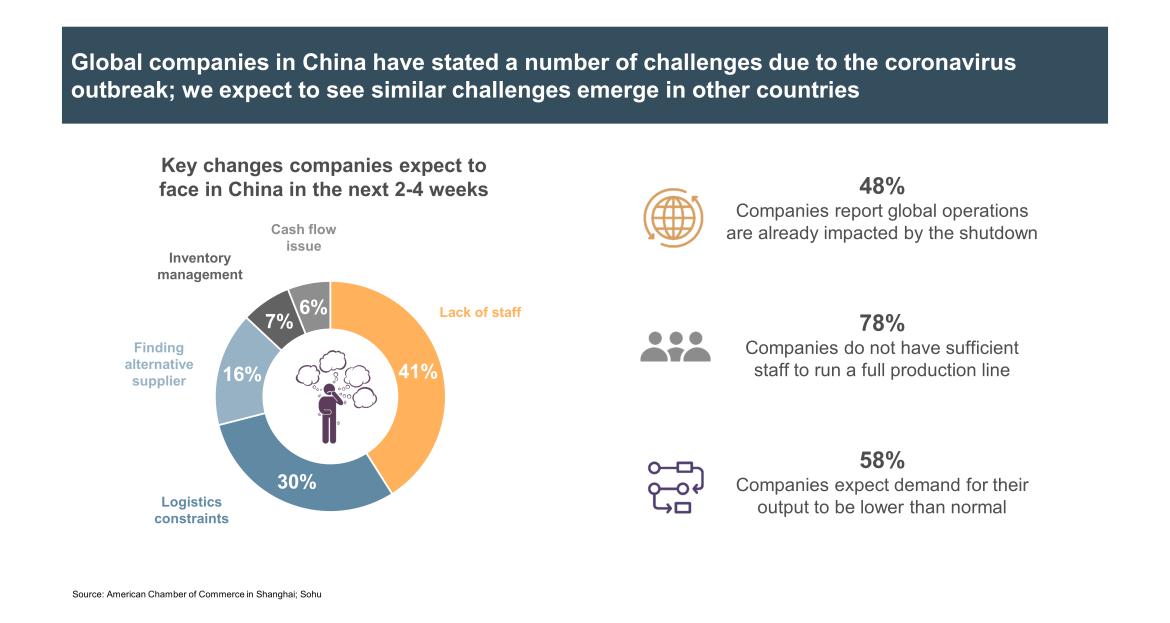 Global Chinese companies challenges