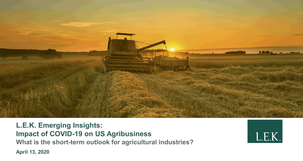 Impact of COVID-19 on US Agribusiness