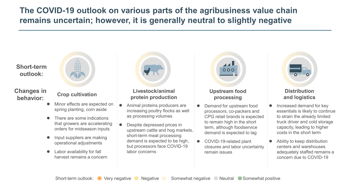 agribusiness value chain outlook on COVID-19