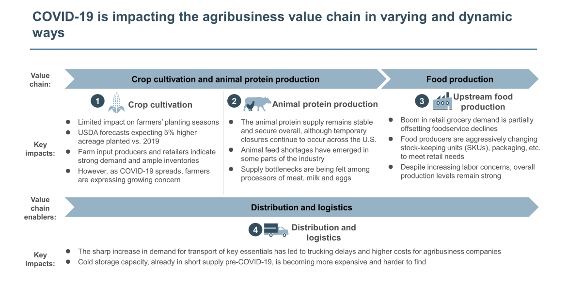agribusiness value chain impact from COVID-19