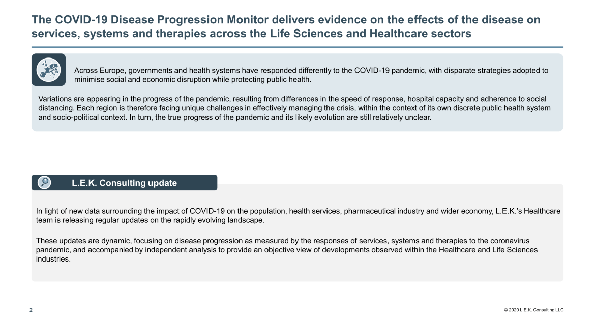 Monitor delivers evidence on the effects of the disease